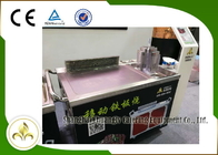 Fume Down Exhaust Mobile Teppanyaki Grill Table Electric Tube Mobile Stainless Steel