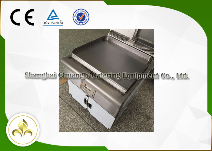 Rectangle Electromagnetic Outdoor Hibachi Grill Table For Beef / Mutton