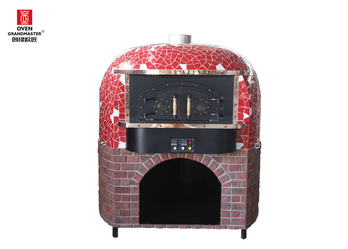 Lava Rock Electric Heating Restaurant And Home Italy Pizza Oven With Electric Tube Heaters